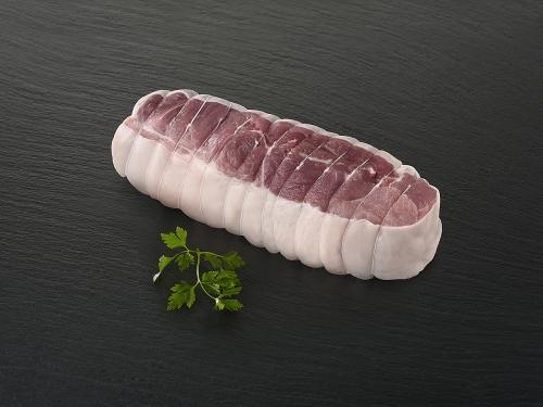 Palette de porc sans os
