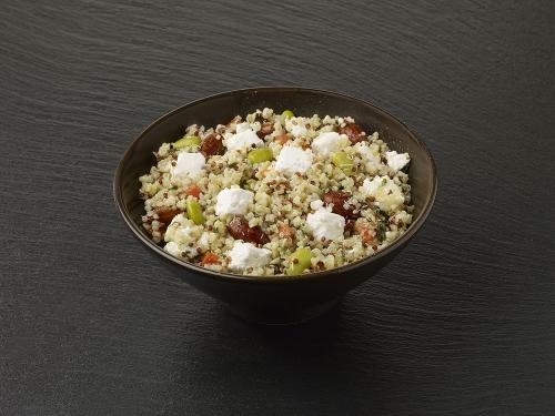 Quinoa et Boulghour aux Légumes et aux Amandes